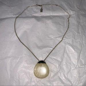 Liz & Co. Claiborne Teardrop Pendant Necklace